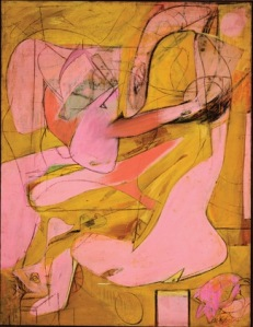 Willem de Kooning. Pink Angels.