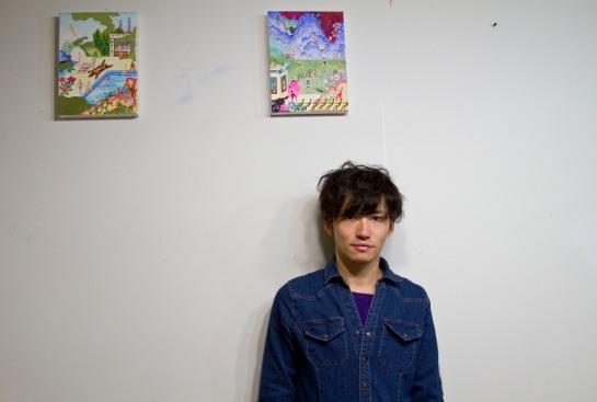 Tat Ito in his studio.