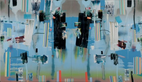"""Texoma"", 2011, 84 x 144 inches"