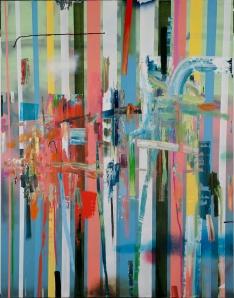 """""""Empire"""", 2011, 108 x 84 inches"""
