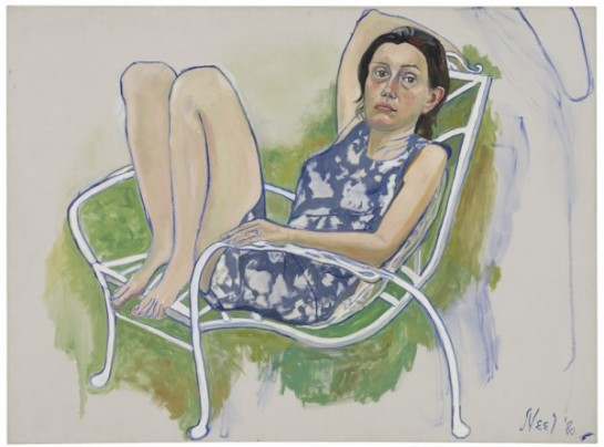Nancy, 1980 Oil on canvas 41 7/8 x 56 inches (106.4 x 142.2 cm) (Courtesy of David Zwirner Gallery ©)