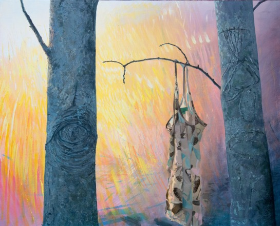 Derry Glare studio by Christine Gray. 2012.