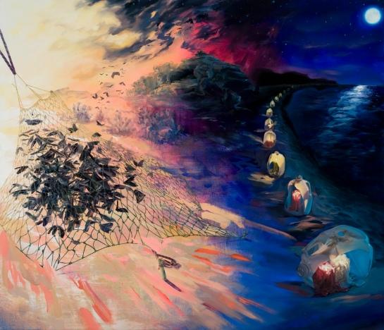 Swarm Cusp Nocturne by Christine Gray. 2012.